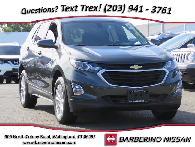 Used 2018 Chevrolet Equinox LT w/1LT SUV in Wallingford CT