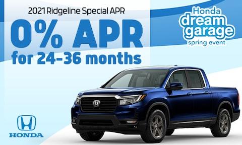 2021 Ridgeline APR special