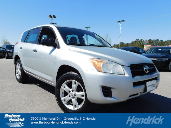 Used 2010 Toyota RAV4 4WD 4dr 4-cyl 4-Spd AT SUV for sale in Greenville, NC