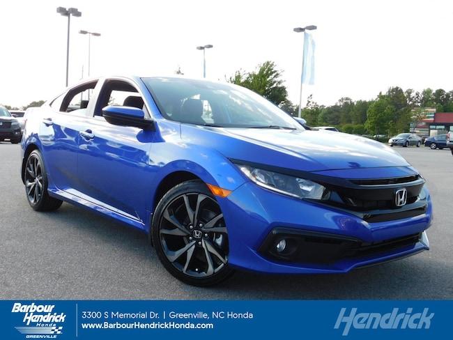 New 2019 Honda Civic Sedan Sport CVT Sedan