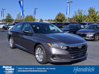 New 2021 Honda Accord LX 1.5T CVT Sedan for sale in Greenville, NC