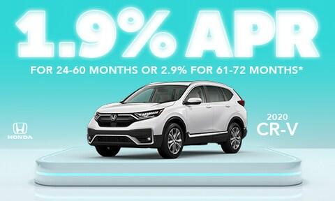1.9% CR-V offer