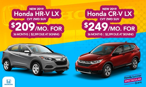 CR-V & HR-V Offer