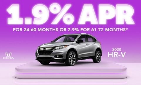 1.9% HR-V offer