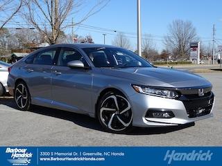 New 2019 Honda Accord Sport 1.5T CVT Sedan for sale in Greenville, NC