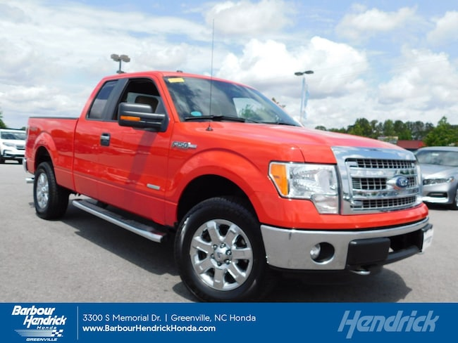 Used 2013 Ford F-150 XLT 4WD SuperCab 145 Pickup for sale in Greenville, NC