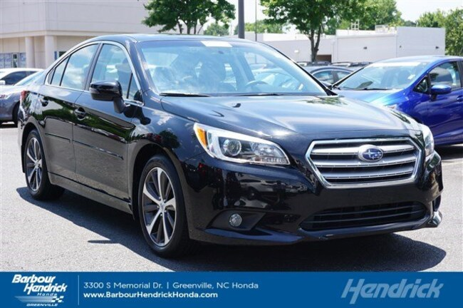 Used 2015 Subaru Legacy 4dr Sdn 2.5i Limited PZEV Sedan for sale in Greenville, NC
