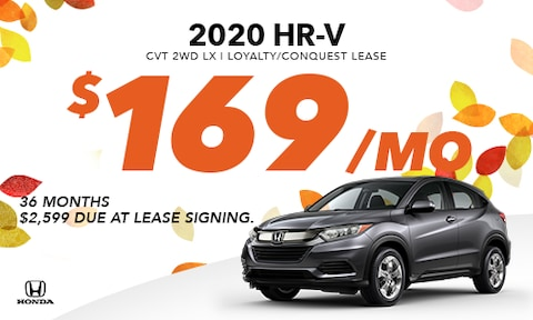 2020 HR-V Conquest/Lease Offer