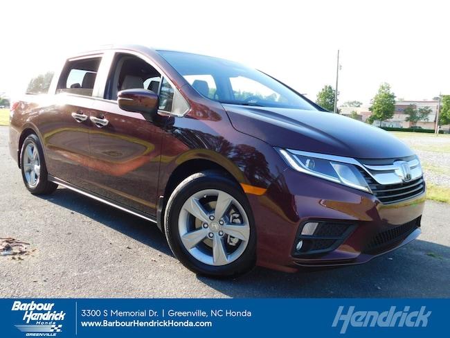 New 2019 Honda Odyssey EX-L Auto w/Navi/RES Minivan