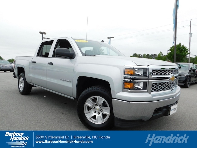 Used 2014 Chevrolet Silverado 1500 4WD Crew Cab 143.5 LT w/1LT Pickup for sale in Greenville, NC