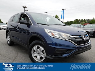Certified Pre-Owned 2015 Honda CR-V 2WD 5dr LX SUV DT11625A for sale in Greenville, NC