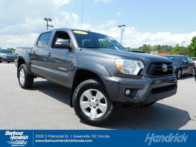 Used 2015 Toyota Tacoma PreRunner 2WD Double Cab V6 AT Pickup for sale in Greenville, NC