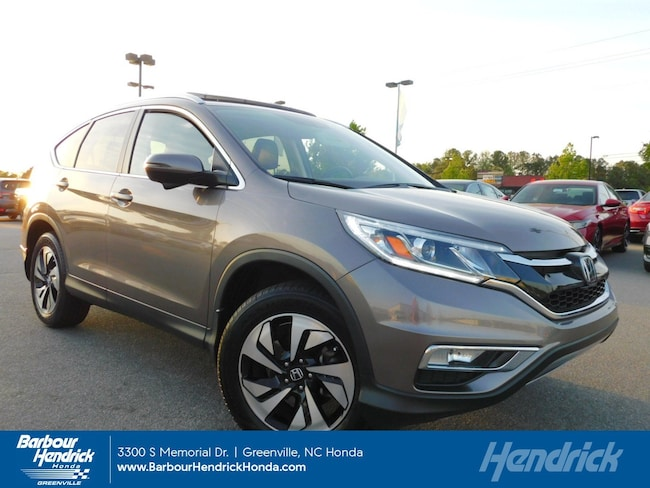 Certified Pre-Owned 2015 Honda CR-V Touring 2WD 5dr SUV for sale in Greenville, NC