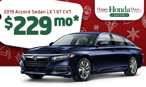 2019 Accord Offer