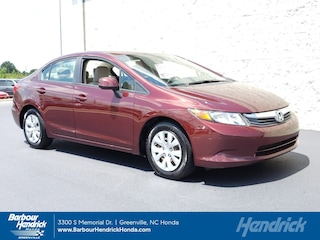 Used 2012 Honda Civic LX 4dr Auto Sedan DT11636A for sale in Greenville, NC