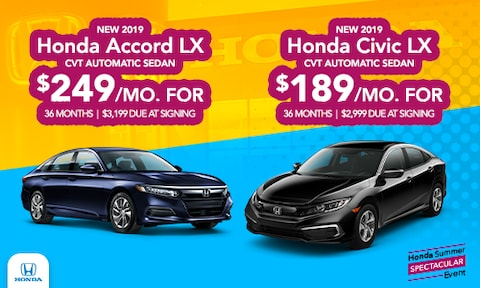 2019 Accord & Civic Offer