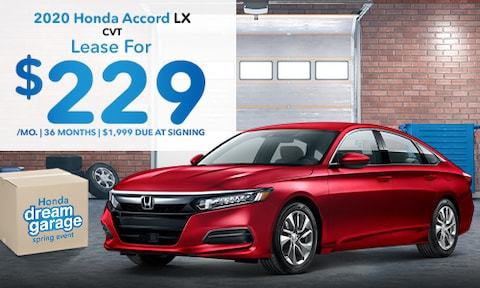 Honda Accord Lease Special March