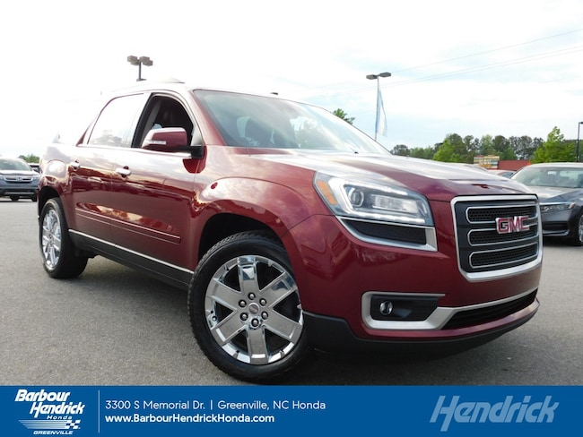 Used 2017 GMC Acadia Limited AWD 4dr Limited SUV for sale in Greenville, NC