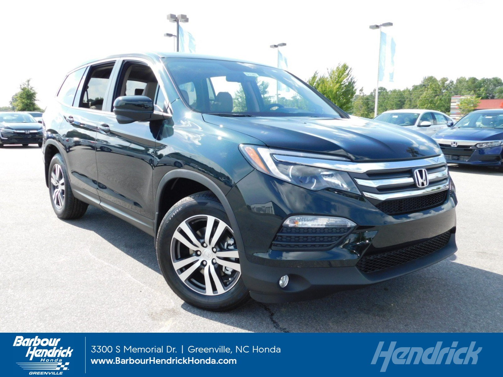 Honda Pilot For Sale In Greenville Nc Barbour Hendrick 2004 Wiring Diagram Also Trailer Harness 2018 Ex L 2wd