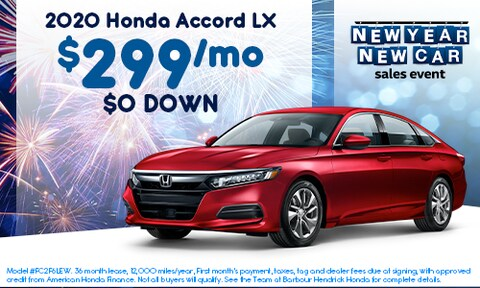 2020 Accord Offer - January 2020