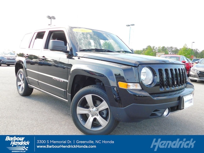 Used 2016 Jeep Patriot 4WD 4dr High Altitude Edition SUV for sale in Greenville, NC