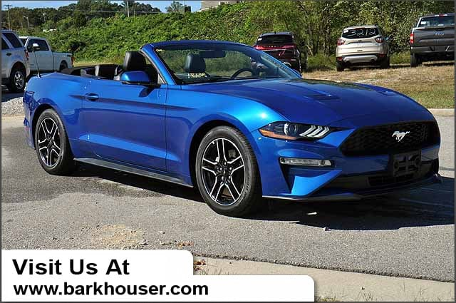 2018 Ford Mustang Convertible Coupe