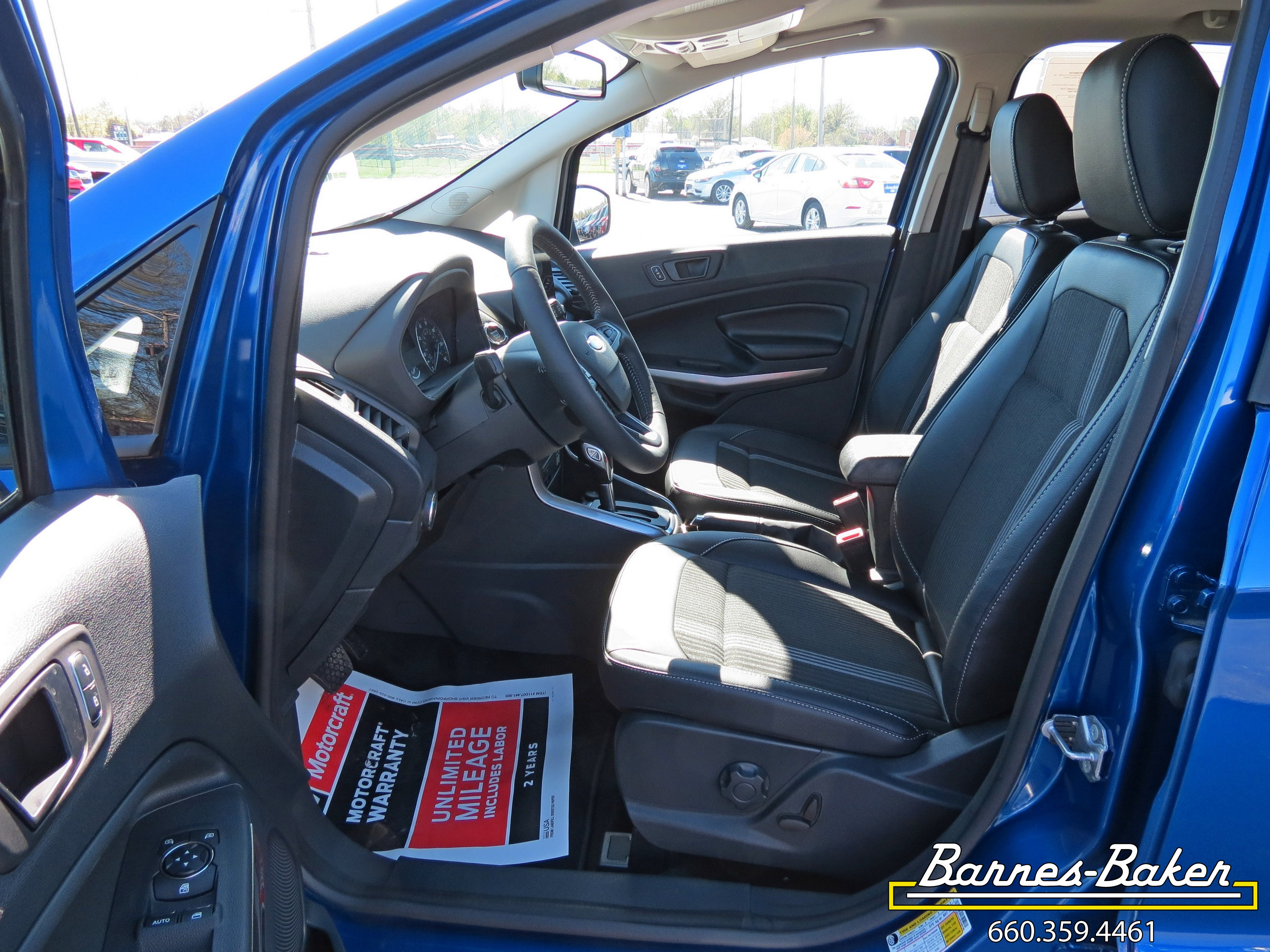 New 2019 Lightning Blue Ford EcoSport For Sale   Trenton, MO