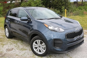 Bargain used vehicles 2018 Kia Sportage LX SUV for sale near you in Tupelo, MS
