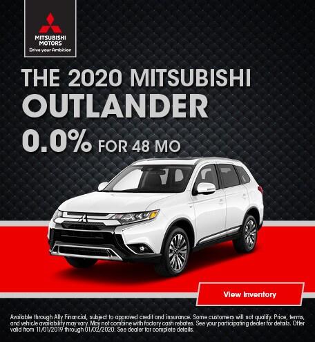 THE 2020 MITSUBISHI OUTLANDER