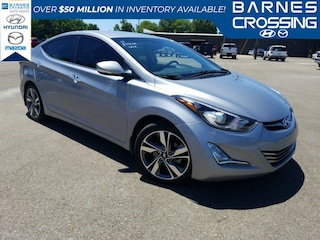 Pre-owned vehicles 2015 Hyundai Elantra Limited Sedan for sale near you in Tupelo, MS