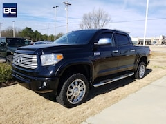 Used vehicles 2017 Toyota Tundra Platinum 5.7L V8 w/FFV Truck CrewMax for sale near you in Tupelo, MS
