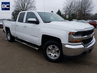 Certified pre-owned vehicles 2018 Chevrolet Silverado 1500 LT Truck Double Cab for sale near you in Tupelo, MS