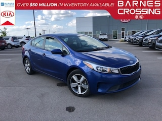 Used  2018 Kia Forte LX Sedan 3KPFL4A70JE194591 K2673 for sale near Fulton MS