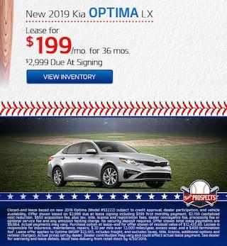 2019 Kia Optima LX - Lease