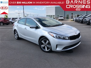 Used  2018 Kia Forte LX Sedan 3KPFL4A72JE213187 K2672 for sale near Fulton MS