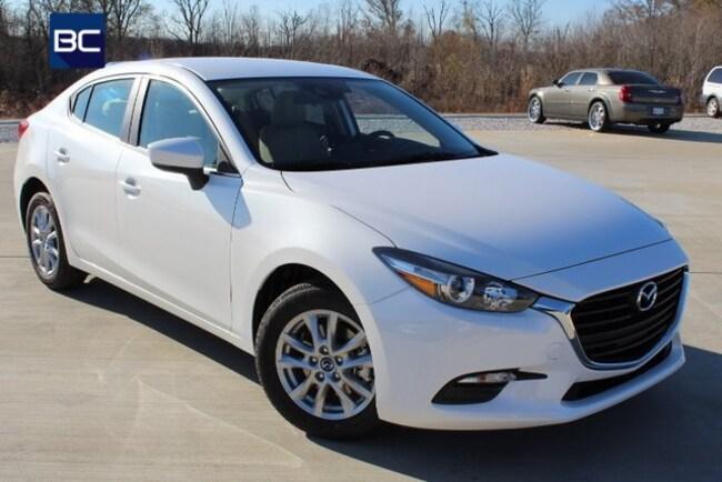 New Mazda vehicles 2018 Mazda Mazda3 Sport Sedan for sale near you in Tupelo, MS