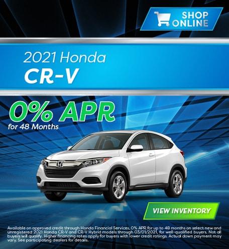 January 2021 Honda CR-V