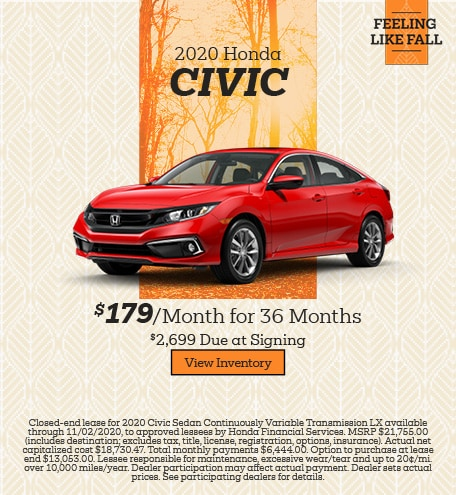 October 2020 Honda Civic