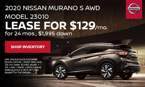 January Murano Lease Offer