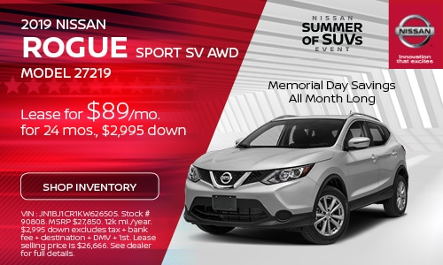 May 2019 Nissan Rogue Sport Offer