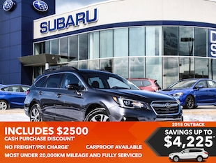2018 Subaru Outback 2.5i Limited at SUV