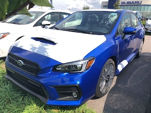 2019 Subaru WRX 4Dr Sport-Tech Pkg 6sp Sedan