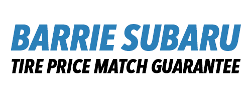 Barrie Subaru Tire Price Match Guarantee