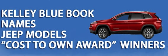 Kelley Blue Book Jeep >> Kelley Blue Book Names Jeep Models Cost To Own Award