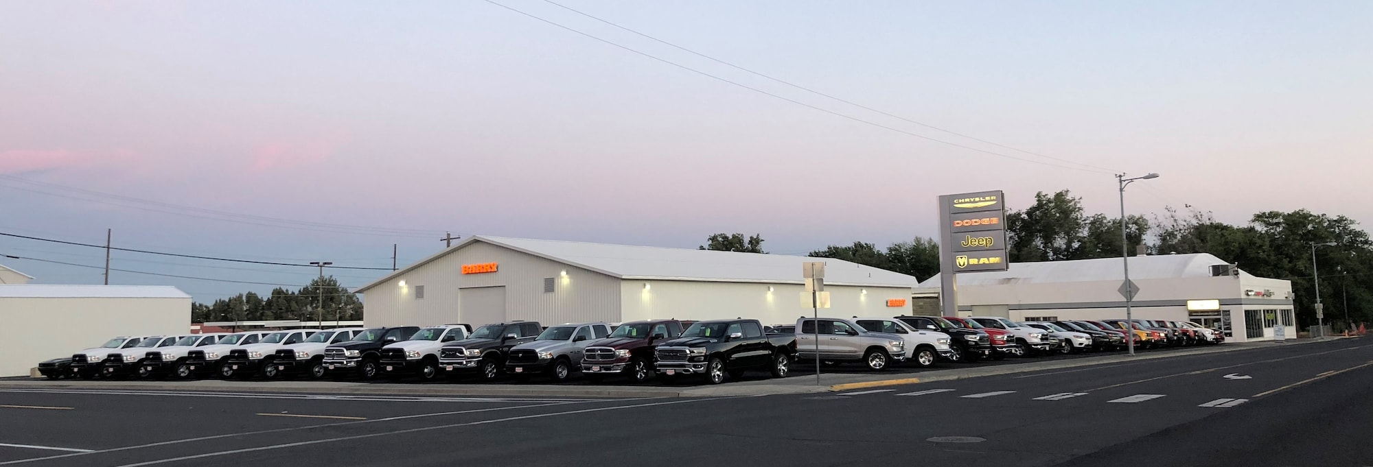 Ephrata Car Dealership - Barry Chrysler Jeep Dodge