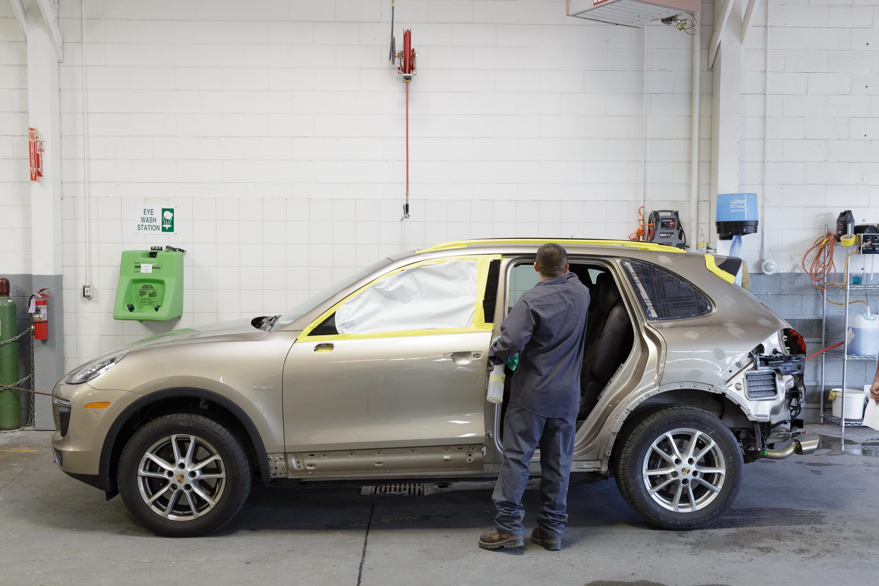 Body Shop And Collision Center In San Francisco Bay Area - Porsche collision repair