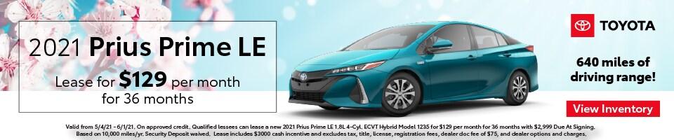 2021 Prius Prime LE