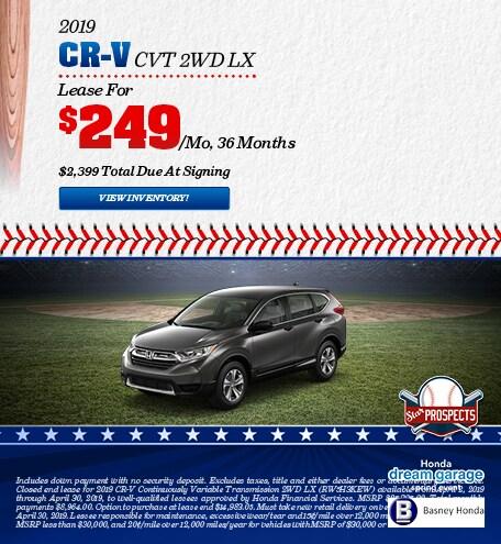 New 2019 Honda CR-V