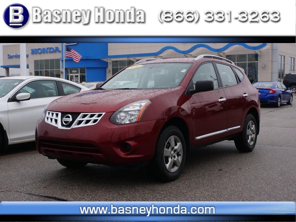 Nissan Rogue Select >> Used 2014 Nissan Rogue Select For Sale At Basney Honda Vin