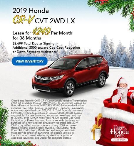 2019 Honda CR-V - Dec